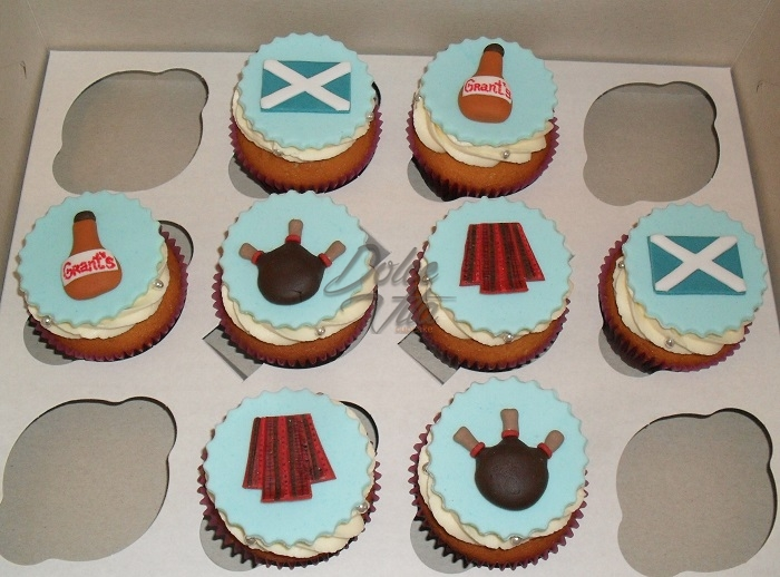 Капкейки в шотландском стиле