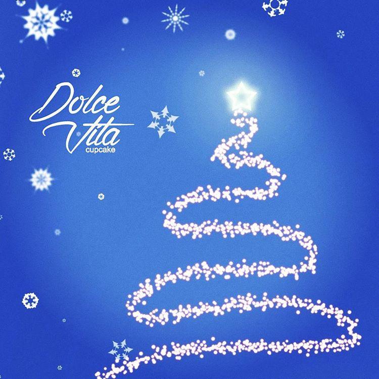 Dolve Vita Cupcake - С Новым 2016 годом - Капкейки на заказ в СПб