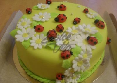 Торт на летнюю тему