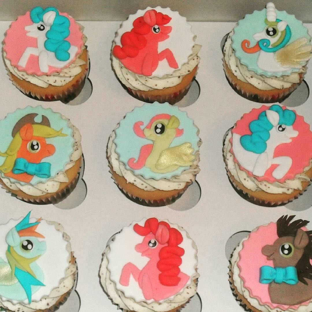 Детские капкейки на день рождения
