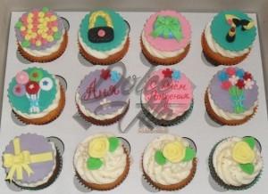 Капкейки на день рождения - Dolce Vita Cupcake