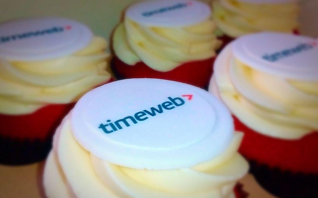 Корпоративные капкейки TimeWeb