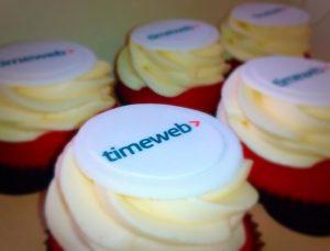 Корпоративные капкейки Timeweb | Капкейки на заказ в СПб