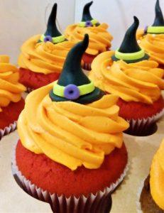 Капкейки на Хеллоуин