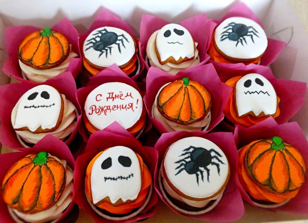 Капкейки на Хэллоуин